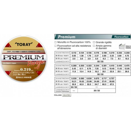 toray premium